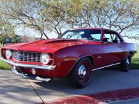 1969 Chevrolet Camaro COPO  The car starts on one turn