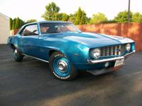 Up for sale is a fully restored 1969 Chevrolet Camaro