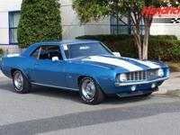 1969 Chevrolet Camaro Z/28 has been restored in its