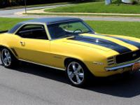 1969 Chevrolet Camaro RS Pro-Touring Yello. 69 CAMARO