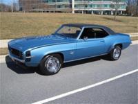 Original RS/SS, matching #rsquo;s 350cid Chevrolet V-8
