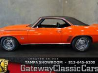 Stock #542-TPA 1969 Chevrolet Camaro SS $49,995