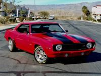 This 1969 Chevrolet Camaro is completely restored and