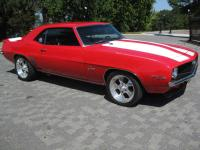 1969 Chevrolet Camaro Z/28. Car was built about