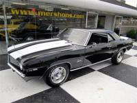 1969 Camaro Z/28 Original Code 10 Tuxedo Black with
