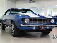 Matching # Engine Original Z28! This Lemans Blue X77