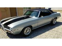 1969 Z28 Camaro X77 Code, DZ 302 Engine, 4 Speed Just