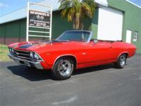 1969 Chevrolet Chevelle Convertible,SS trim,Built 327