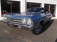 69 CHEVELLE STUNNING FACTORY COLOR BLUE PAINT, FULLY