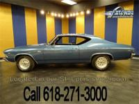 1969 Chevrolet Chevelle is up for sale! This beautiful