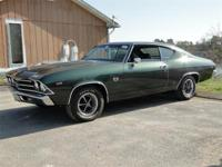 1969 CHEVROLET CHEVELLE. SS 396 CUBIC INCH. IT HAS THE
