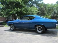 Offering my 1969 Chevelle 135 VIN automobile. I have