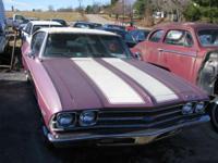1969 Chevrolet Chevelle 2 door hatchback. 99 % initial,