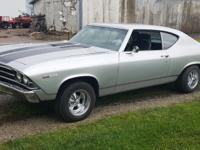 1969 Chevrolet Chevelle Malibu 502ci TH350 Real Deal.
