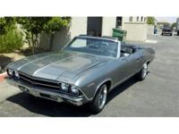 1969 Chevrolet Malibu Convertible Very clean, runs