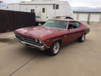 Nice 1969 Chevrolet Chevelle SS 396 runs and looks