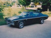 1969 Chevelle SS 396. Call . Located in Roanoke,