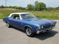 This amazing Chevelle SS Convertible is powered by a