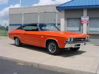 Fully restored 1969 Chevelle SS-396. Big block 396cid,