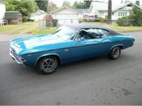 "1969 Chevrolet Chevelle SS 396 ""Tribute"", nice correct"