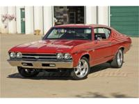This fire breathing 1969 Chevelle SS 396 has been