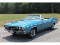This gorgeous 1969 Chevelle is 1 of 36 produced and the