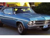 1969 SS 396 Total restoration Motor, Trans Turbo 400,