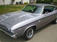 This link is a privately possessed Chevelle SS kept in