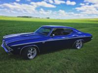 1969 Chevrolet Chevelle SS Blue Holley PROTOURING.