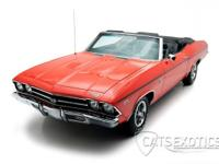 1969 Chevrolet Chevelle SS Convertible finsihed in