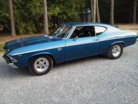 1969 Chevrolet Chevelle SS High Performance This is a