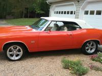 1969 Chevrolet Chevelle SS # Matching 396 Convertible.