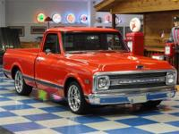 1969 Chevrolet C10 Cheyenne custom. Painted Burnt Solar