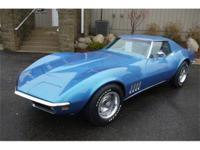 Beautiful 1969 Corvette coupe recently refurbished