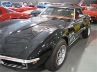 1969 CHEVROLET CORVETTE CONVERTIBLE WITH A 350/350HP