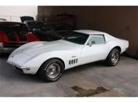 1969 Chevrolet Corvette- Factory Air ! Rare pop out