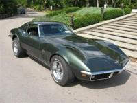 1969 CORVETTE STINGRAY COUPE 427/435 HP 4 SPEED CAR