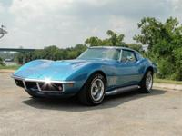 1969 CHEVROLET CORVETTE. THIS IS A NUMBERS MATCHING