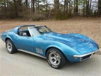 CORVETTE 1969, Very nice 1969 Corvette T-Top in very