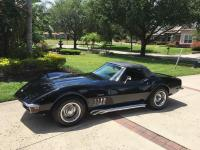 1969 Chevrolet Corvette Convertible.All chrome triple