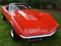 Vehicle Description  1969 Chevrolet Corvette L88
