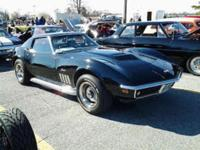 1969 Chevrolet Corvette Sting Ray Coupe ..Only 6,000