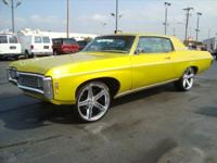 CALL STEPHEN @  ABOUT THIS 2DR 1969 CHEVY IMPALA WITH