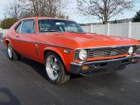 Beautiful award winning Hugger orange 69 SS Nova