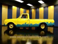 Very clean custom 1969 Chevrolet pickup. This one has a