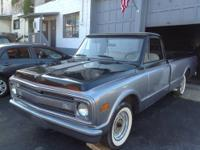 This 1969 Chevy C10 Full-Size is a solid truck from