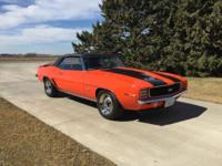 1969 Chevy Camaro for sale (IA) - $89,900 '69 Chevy
