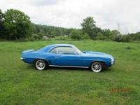 1969 Camaro SS 502. Mint condition. It was featured on
