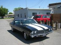 396 Chevelle, 4 Speed Muncie Transmission. This car was