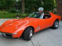 1969 Chevy Corvette for sale (WI) - $79,000. Lovely,
